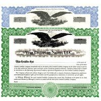 Regulate company members. Get custom LLC Certificates online. We print and ship. Simplify corporate record-keeping. Manufactured by Blumberg.