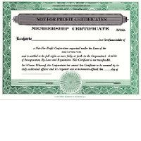 Regulate corporate membership. Get custom Non-profit Certificates online. We print and ship. Make good record-keeping simple. CORPEX Brand.