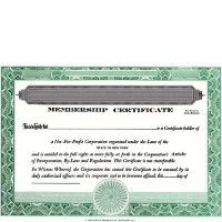 Regulate company members. Buy blank Non-Profit Certificates. We Ship Templates. DIY cost-effective record-keeping. By CORPEX.