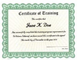 Need training certificates for a class, school, or seminar? Bestow a tangible reward. We'll custom print your unique award criteria onto beautiful, Goes templates and ship right away for distribution.