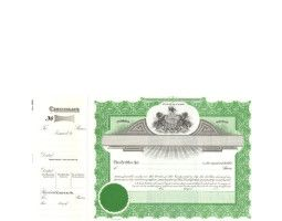 Incorporate in Pennsylvania? Formalize each shared record your company sells. Get custom Stock Certificates online. We'll print and ship. Distribute beautifully lithographed paper objects by Goes.