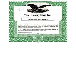 Regulate corporate membership. Get custom Non-profit Certificates online. We print and ship. Make good record-keeping simple. Blumberg Brand.