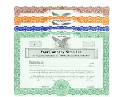 Formalize each shared record your company sells. Get custom Stock Certificates online. We print and ship. Distribute. Popular Goes Series.