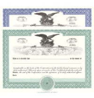 Formalize each shared record your company sells. Order blank Stock Certificates online. We print and ship templates. You fill out. Distribute. Elegant CORPEX Design.