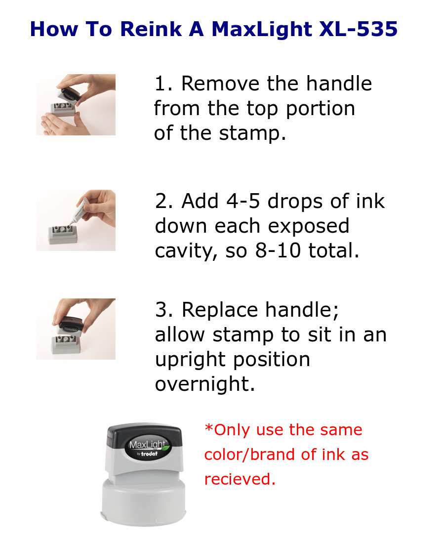 Use MaxLight Refill Ink Only to Extend the Life of this product by at least 50k impressions