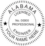 Alabama  PE Seal
