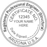 Arizona PE Seal