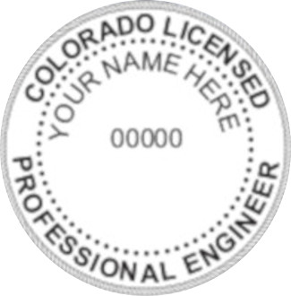 Colorado PE Seal