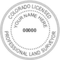 Colorado Professional Surveyor Seal
