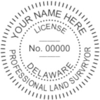 Delaware Professional Surveyor Seal