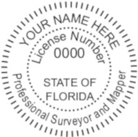 Florida Professional Surveyor Seal