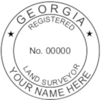 Georgia Professional Surveyor Seal