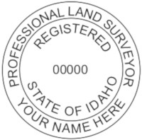 Idaho Professional Surveyor Seal