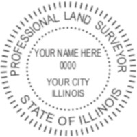 IL Professional Surveyor Seal