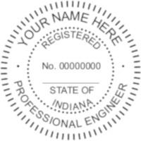 Indiana PE Seal