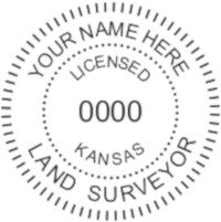 Kansas Professional Surveyor Seal