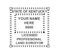 Kentucky Professional Surveyor Seal