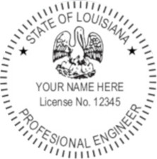 Louisiana PR Seal