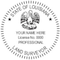 Louisiana Professional Surveyor Seal