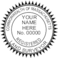 Massachusetts Professional Surveyor Seal