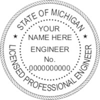 Michigan PE Seal