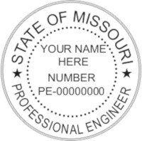 Missouri PE Seal