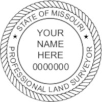 Missouri Professional Surveyor Seal