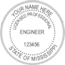 Mississippi PE Seal