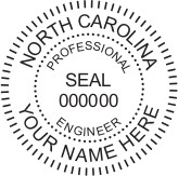 North Carolina PE Seal
