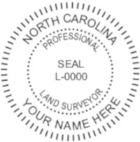 North Carolina Professional Surveyor Seal