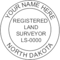 North Dakota Professional Surveyor Seal