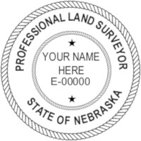 Nebraska Professional Surveyor Seal