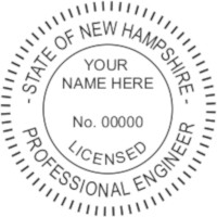 New Hampshire PE Seal
