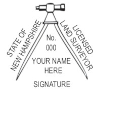 New Hampshire Professional Surveyor Seal