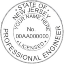 New Jersey PE Seal