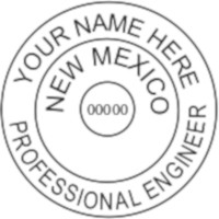 New Mexico PE Seal