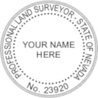 Nevada Professional Surveyor Seal
