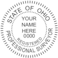 Ohio Professional Surveyor Seal