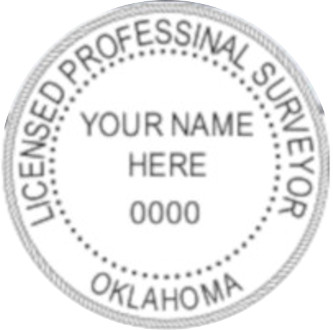 Oklahoma Professional Surveyor Seal
