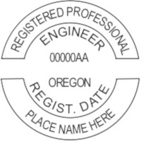 Oregon PE Seal
