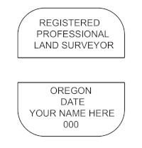 Oregon Professional Surveyor Seal