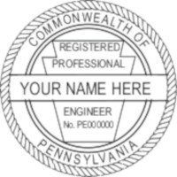 Pennsylvania PE Seal