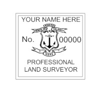 Rhode Island Professional Surveyor Seal