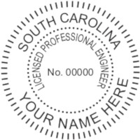 South Carolina PE Seal