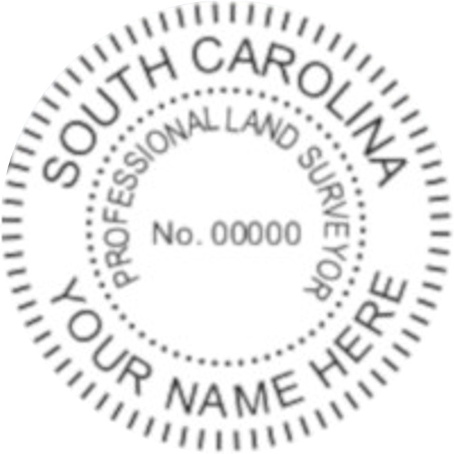 South Carolina Professional Surveyor Seal