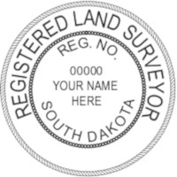South Dakota Professional Surveyor Seal