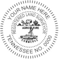 Tennessee Professional Surveyor Seal