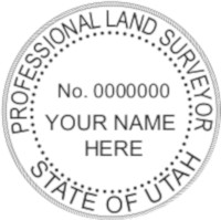 UTAH Professional Surveyor Seal