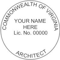 Virginia ARCH Seal