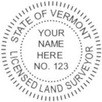 Vermont Professional Surveyor Seal